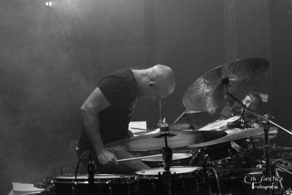 David de la fuente bateria concierto