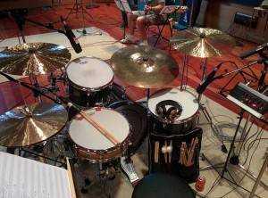 Grabación batería DVD Manu Tenorio