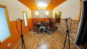 Grabación baterías Enrique Lázaro